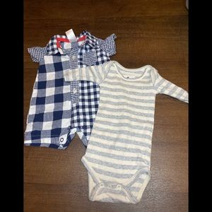 J Crew/Carters newborn outfits